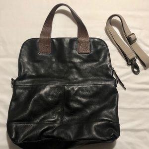 Cynthia Rowley Pebbled Leather Crossbody Bag